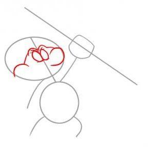 kako nacrtati olovkom Štrumpfovi