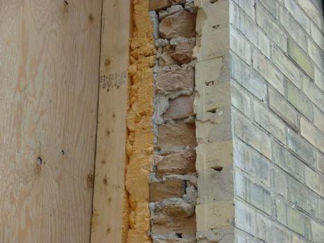 zid izolacija ispred kuće