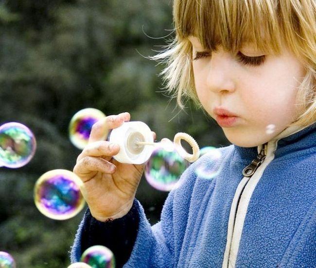 как правильно делать мыльные пузыри