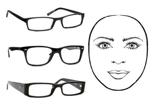 koja naočale su pogodni za okruglog lica