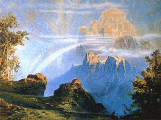 Valhalla - raj za hrabre ratnike. nordijskoj mitologiji