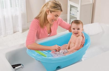 beba kade za novorođenčad kupanje