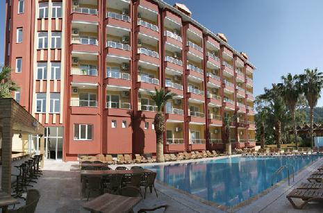 Vela Hotel Icmeler 3 * (Icmeler, Marmaris, Turska): opis hotela, a recenzije