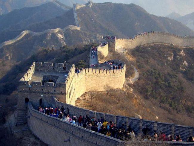 Великая китайская стена: интересные факты и история возведения