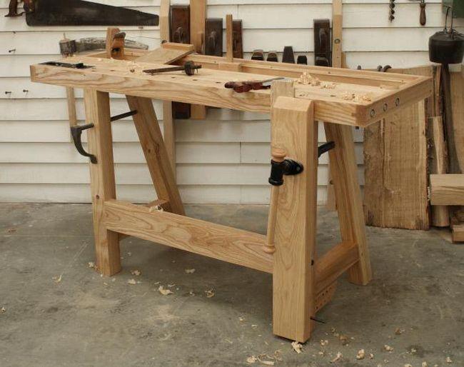 Radni stol za garažu sa svojim rukama