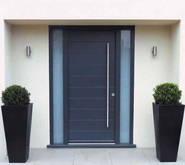 Ulaz metalna vrata otvaraju veličine