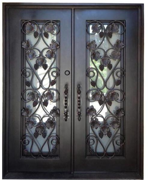 Izolirani veličina ulazna metalna vrata