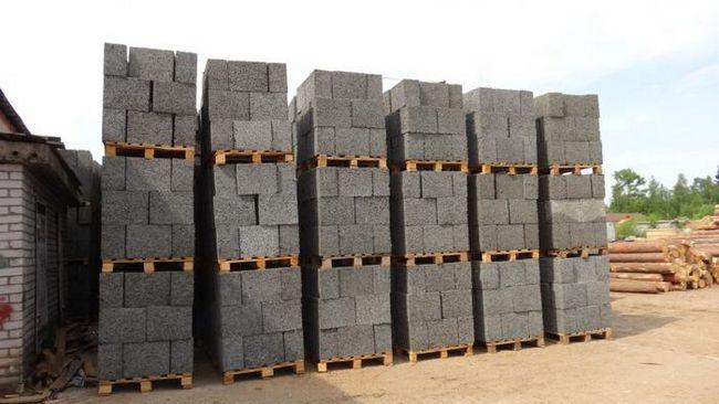 строительные блоки виды размеры