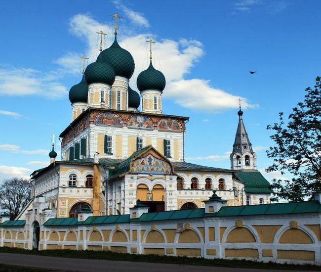 Resurrection Katedrala Tutaev: povijest, arhitektura, uređenje interijera