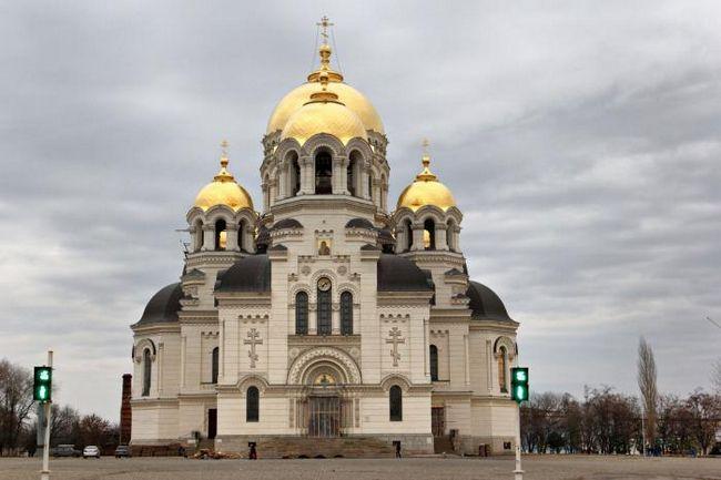 Ascension Katedrala u istoriji Novocherkassk. raspored usluga