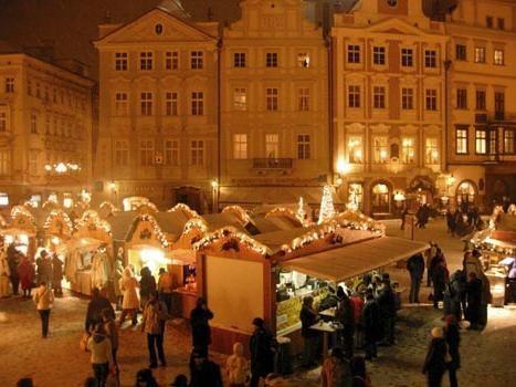 Nova godina u Pragu: slike