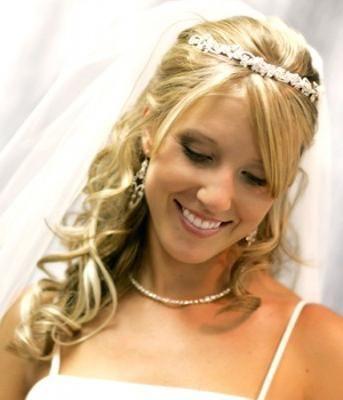 Выбираем образ: прическа с челкой на свадьбу