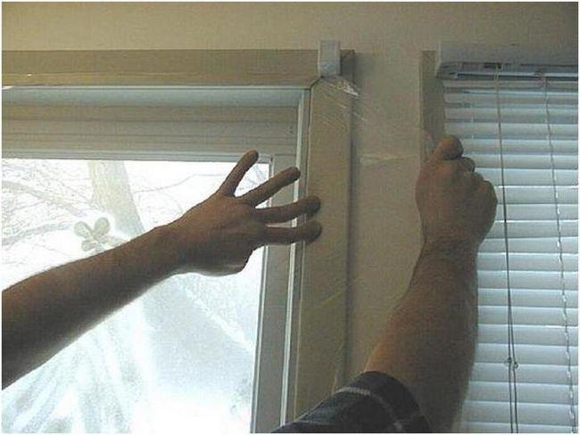 uklanjanja zaštitne folije od prozora