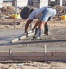 cementnog betona sa svojim rukama