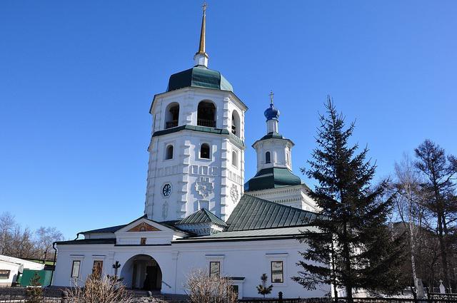Manastir Znamensky (Irkutsk): Adresa, ocjene i fotografije