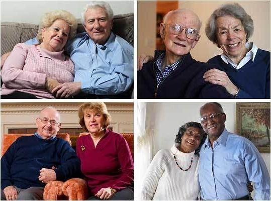 Золотая свадьба: сколько лет вместе?